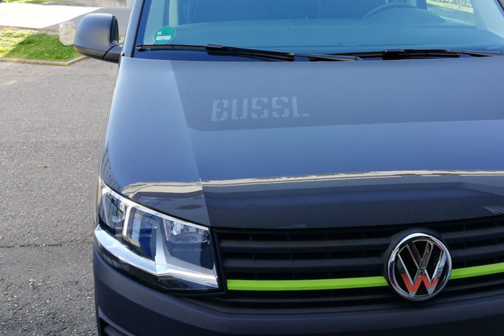 VW Bus, Nautische Rose, Foliendesign